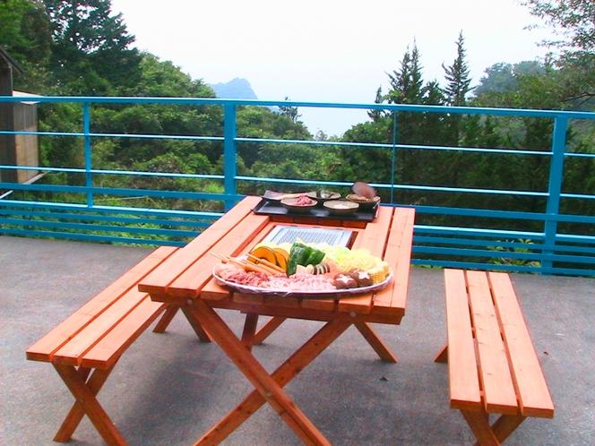夕食(BBQ)