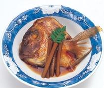 桜鯛のかぶと煮