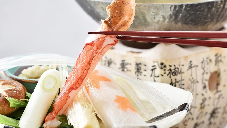【2021秋の特別会席】カニすき鍋※イメージ