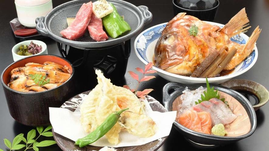 清盛御膳(レストランメニューですので当日でもレストランでお召し上がりいただけます♪)