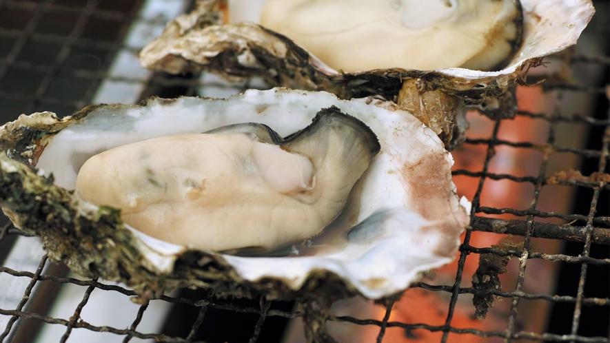 牡蠣の代表的な食べ方!焼き牡蠣♪