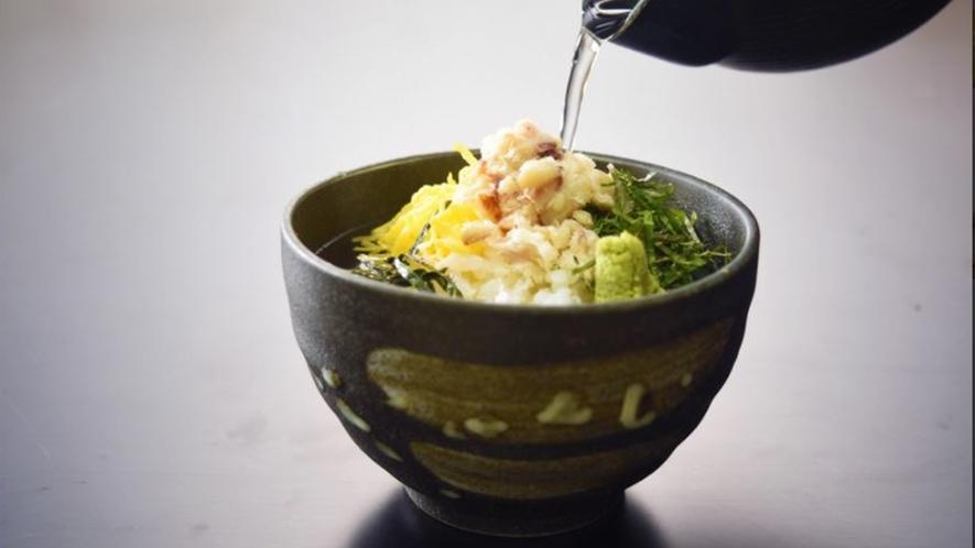 黒鯛は、お出汁をかけてお茶漬けとして美味しくお召し上がりいただけます。