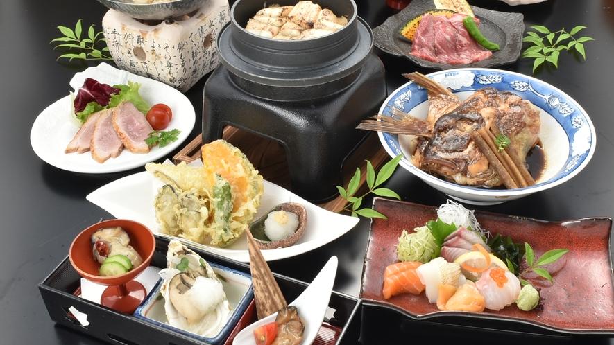 お肉が食べたい方におススメ☆広島牛付☆厳島会席※料理一例
