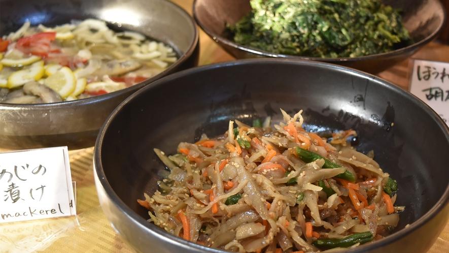 【無料朝食】料理一例