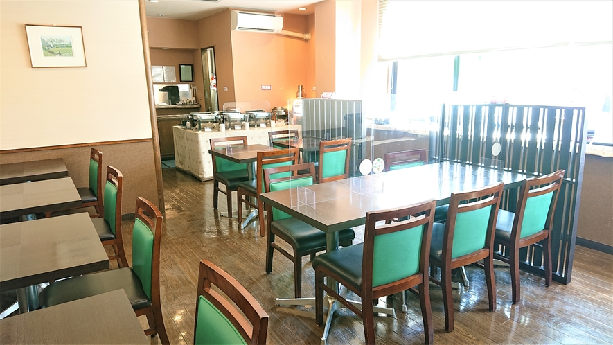 朝食レストラン会場
