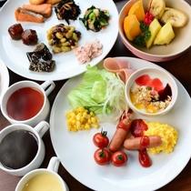 朝食:和食、洋食おすきなだけどうぞ6