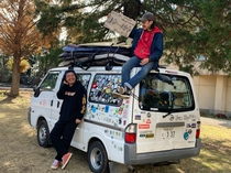 日本一周の旅にも憩いの場