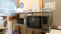 *キッチン/電気ケトル、炊飯器、トースターも完備