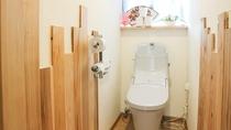 *共有トイレ/館内に2か所(洗浄機能付)