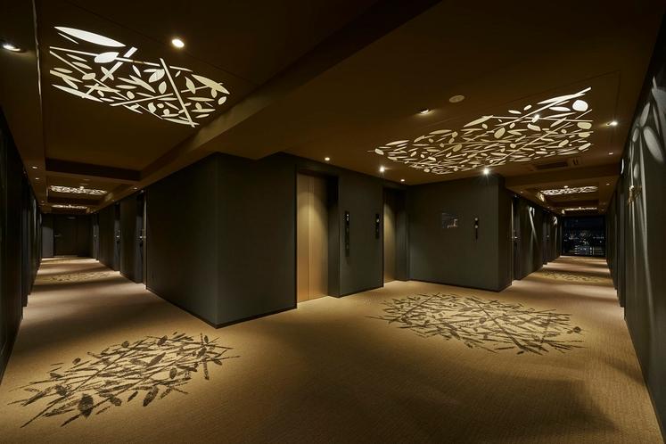 かぐや館 客室廊下