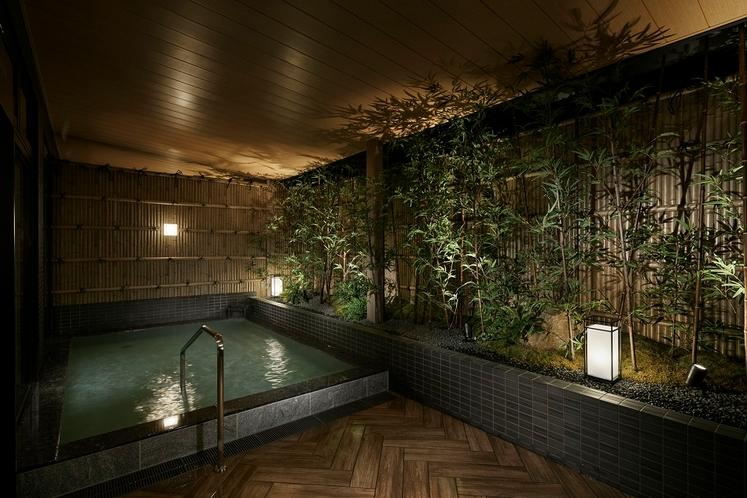 素晴らしい風情のある露天風呂