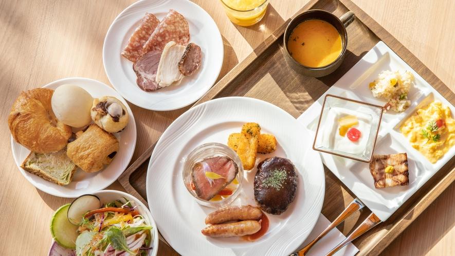 朝食 和洋ビュッフェ(洋食イメージ)