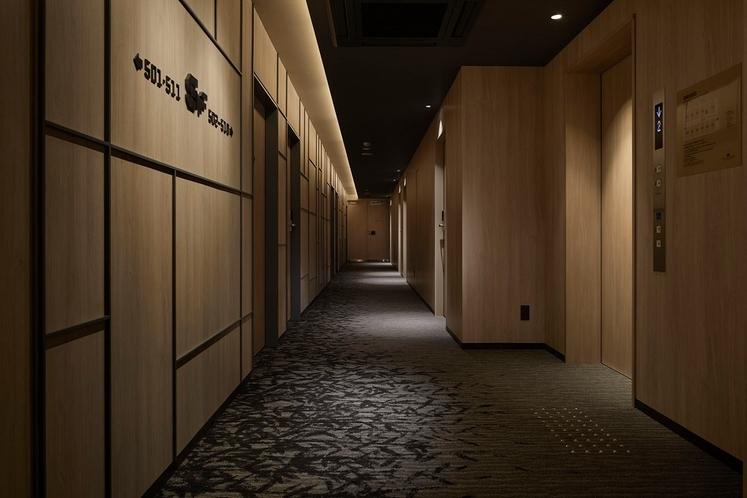 みやび館 客室廊下