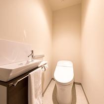 トイレとバスルームはセパレート