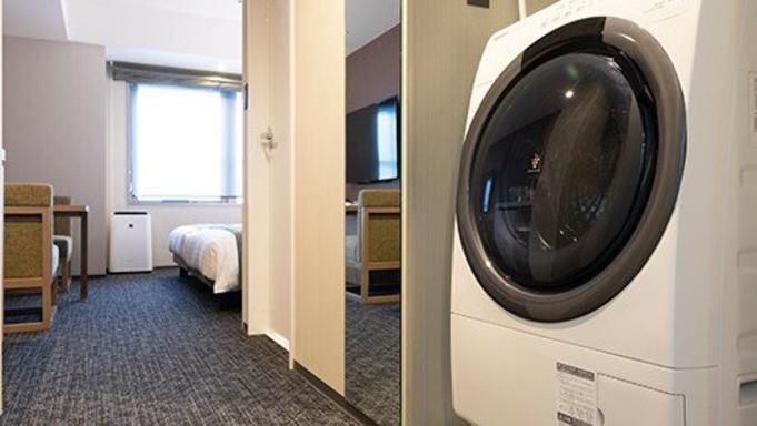 【スタンダードプラン】観光に便利な立地♪お部屋に電子レンジ&洗濯乾燥機完備<2名利用>(素泊まり)