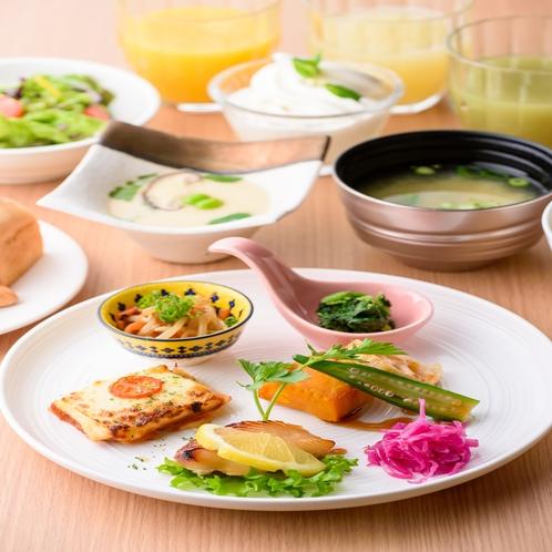 朝食プレート形式④