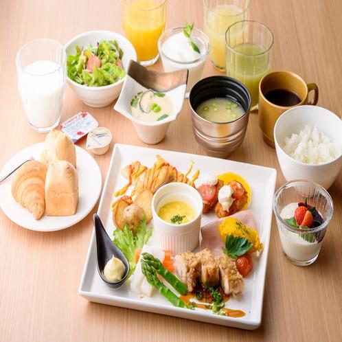 朝食プレート形式⑩