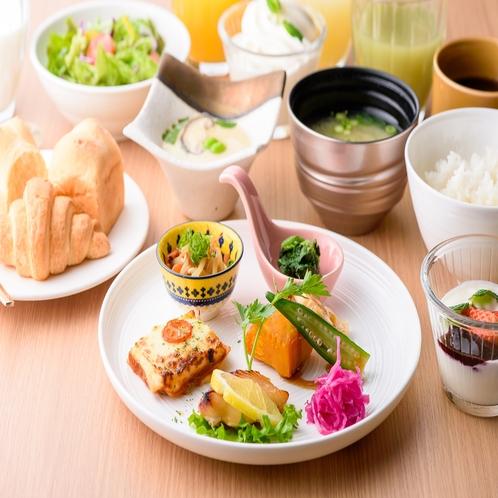 朝食プレート形式②