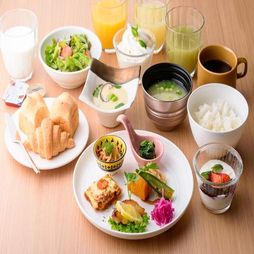朝食プレート形式①