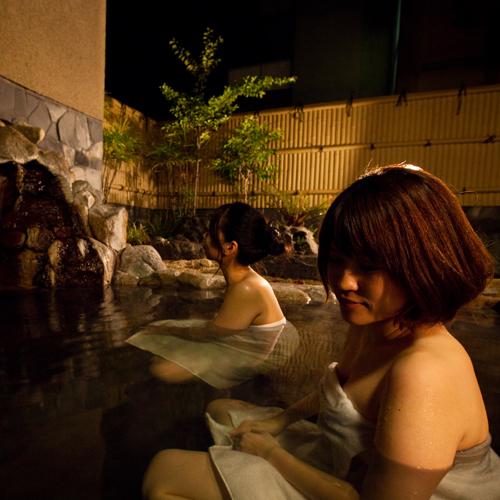 【湯殿 水哉閣】露天風呂