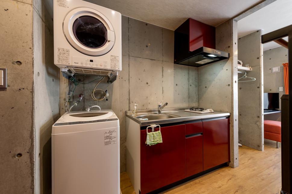 ガス衣類乾燥機・全自動洗濯機