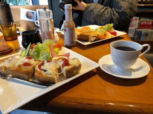 カフェのモーニング♪【朝食付き】女性ドミトリー♪ 出島の見える宿★アクセス抜群