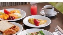 朝食準備中(1)