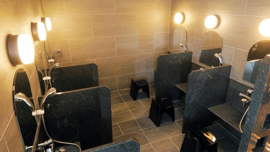 12階大浴場洗い場