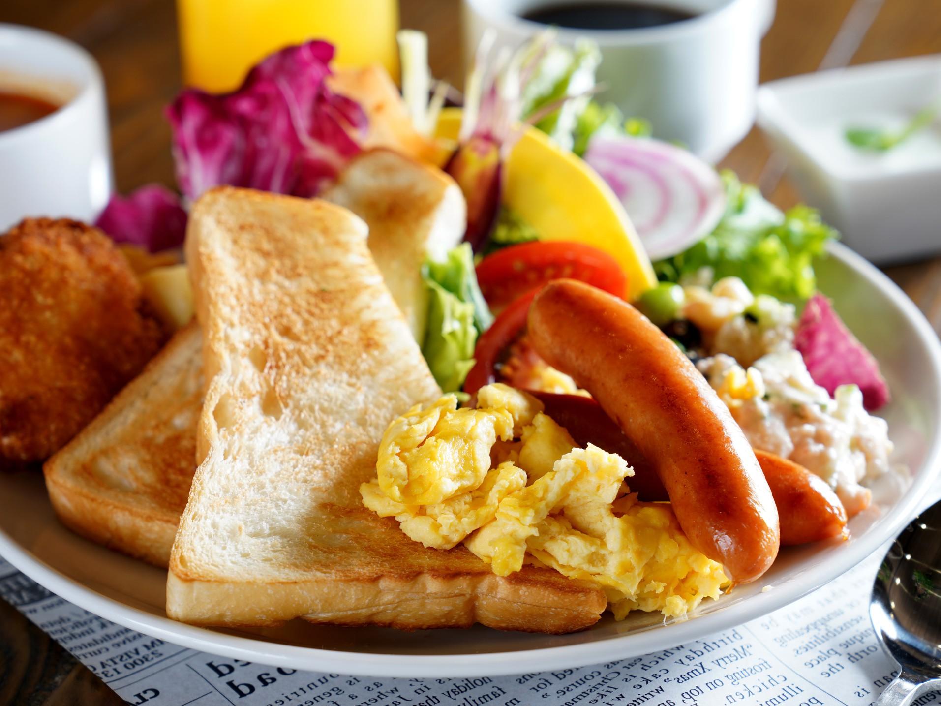 朝食バイキング(盛付イメージ)