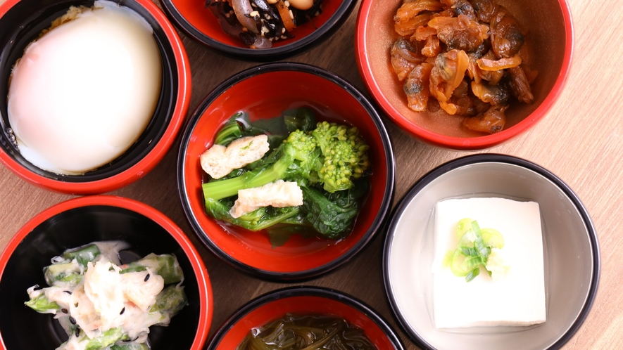 ■冷製小鉢【1Fレストラン朝食♦6:30~9:30(LO9:00)】