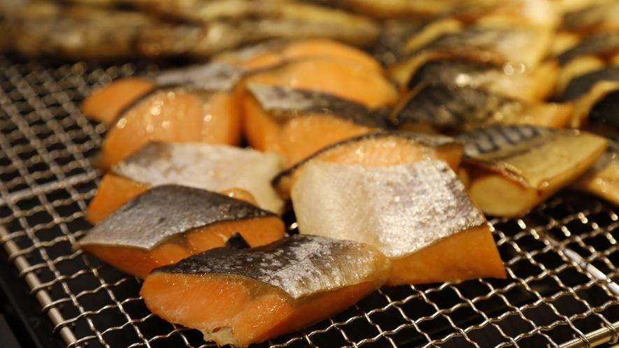 ■焼き魚【1Fレストラン朝食♦6:30~9:30(LO9:00)】