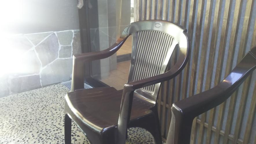 ■【外気浴】ととのい椅子
