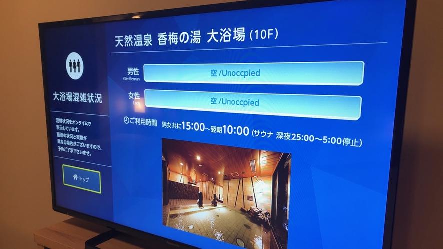 ■客室 TV混雑センサー