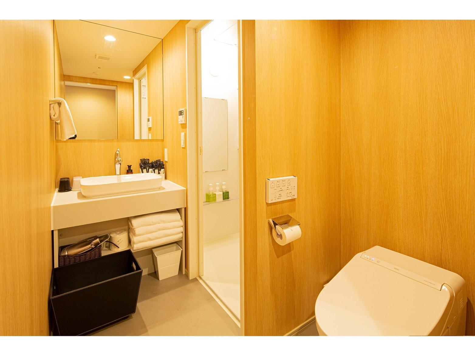 全部屋トイレとお風呂はセパレートです。