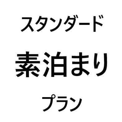 【スタンダード】  素泊りプラン