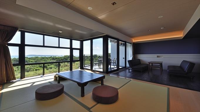 【レイトチェックアウト特典】最上階のお部屋から望む、開放的な景色を心行くまで☆【素泊まり】