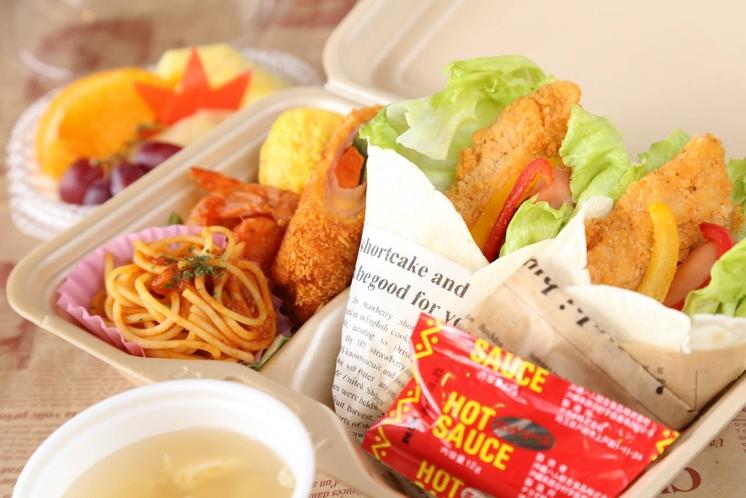 【朝食一例】トルティーヤセット