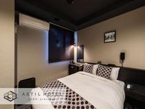 <客室>落ち着いた色合いのお部屋タイプ シックな雰囲気です。・ダブルタイプ