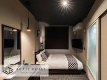<客室>落ち着いた色合いのお部屋タイプ シックな雰囲気です。・ユニバーサルタイプ