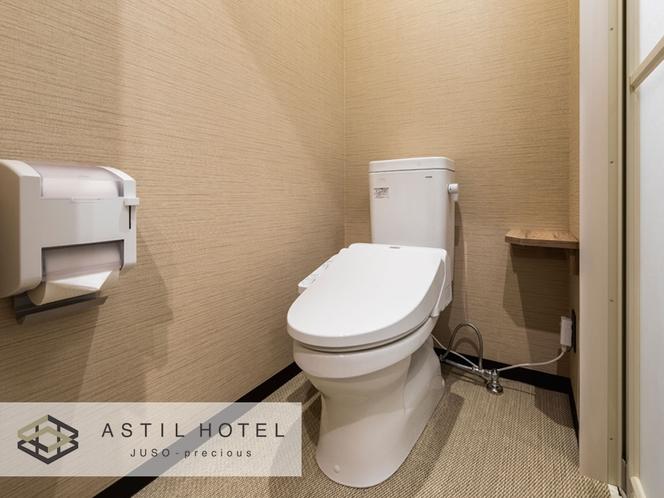 <客室>トイレ