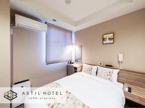 <客室>優しい色合いお部屋タイプ 暖かな雰囲気です。・ダブルタイプ
