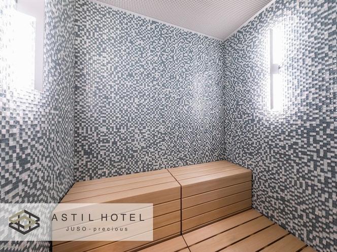 <10F最上階>男性大浴場では温サウナ&冷サウナ♯スッキリして頂けます。