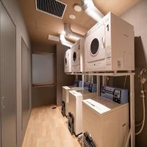 ■コインランドリー■洗濯機・乾燥機を各2台ご用意しております♪