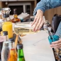 ■ウェルカムドリンク■ロビーにてソフトドリンク・アルコールを無料でご提供♪(時間指定有)