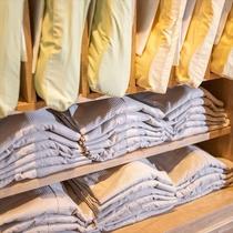 【Smart】1階ロビーにてお好きなパジャマをお取り頂けます♪