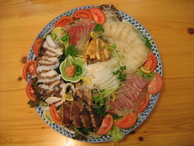 海鮮鉢盛り