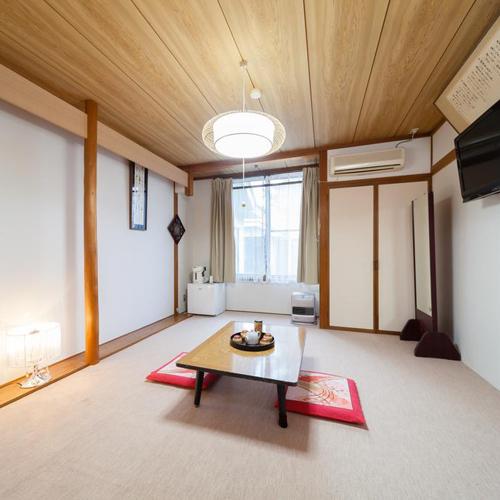 *102号室(8畳バストイレなし)1階のお部屋で館内の移動がスムーズです。