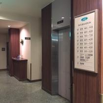 ロビーエレベーター