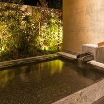 【ガーデンヴィラ】専有露天風呂付和洋室B 温泉露天風呂付テラス