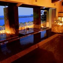 グループホテルの湯巡りも無料(ホテルニューアワジ スパテラス水月 淡路棚田の湯)